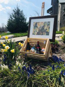 Hannah Mitchells art and wine